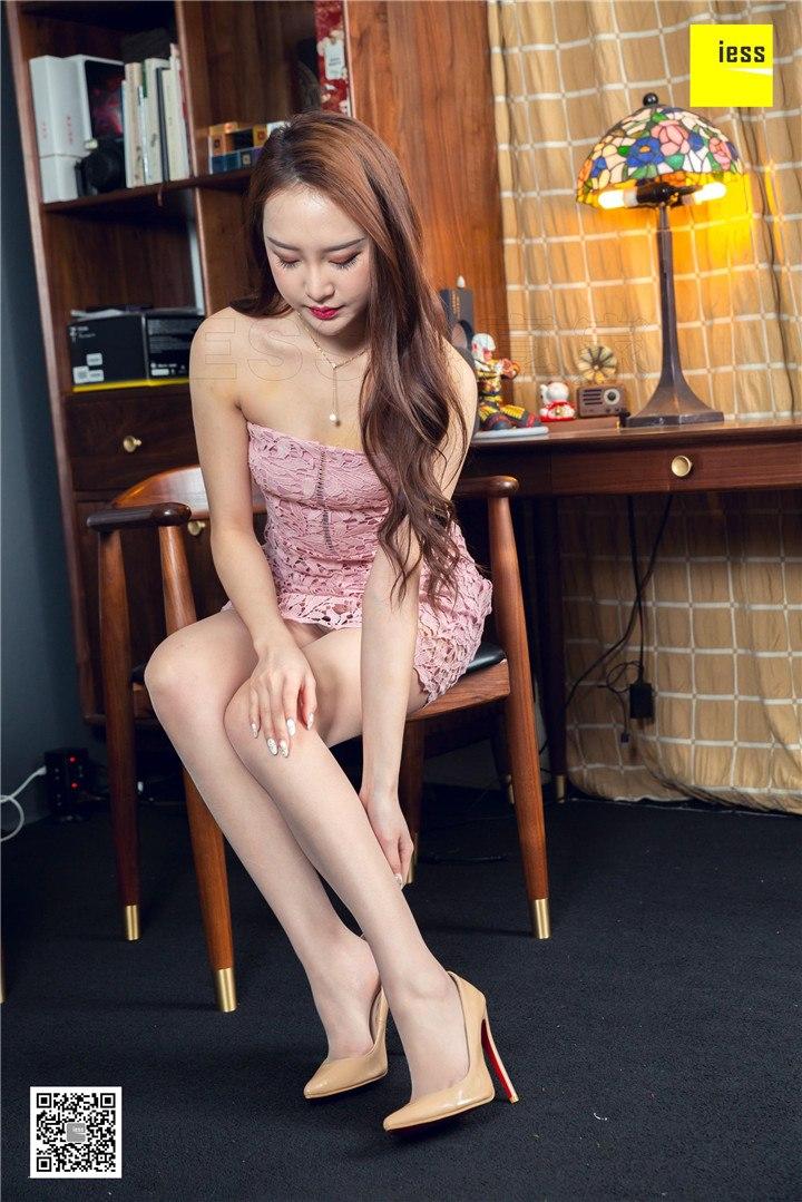 [IESS异思趣向]2019.03.28 丝享家452 云芝的粉色蕾丝裙[90P/36.6M]